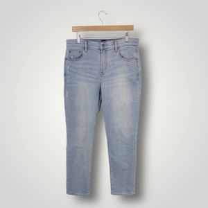 Gap Denim Best Girlfriend Light Wash Jeans